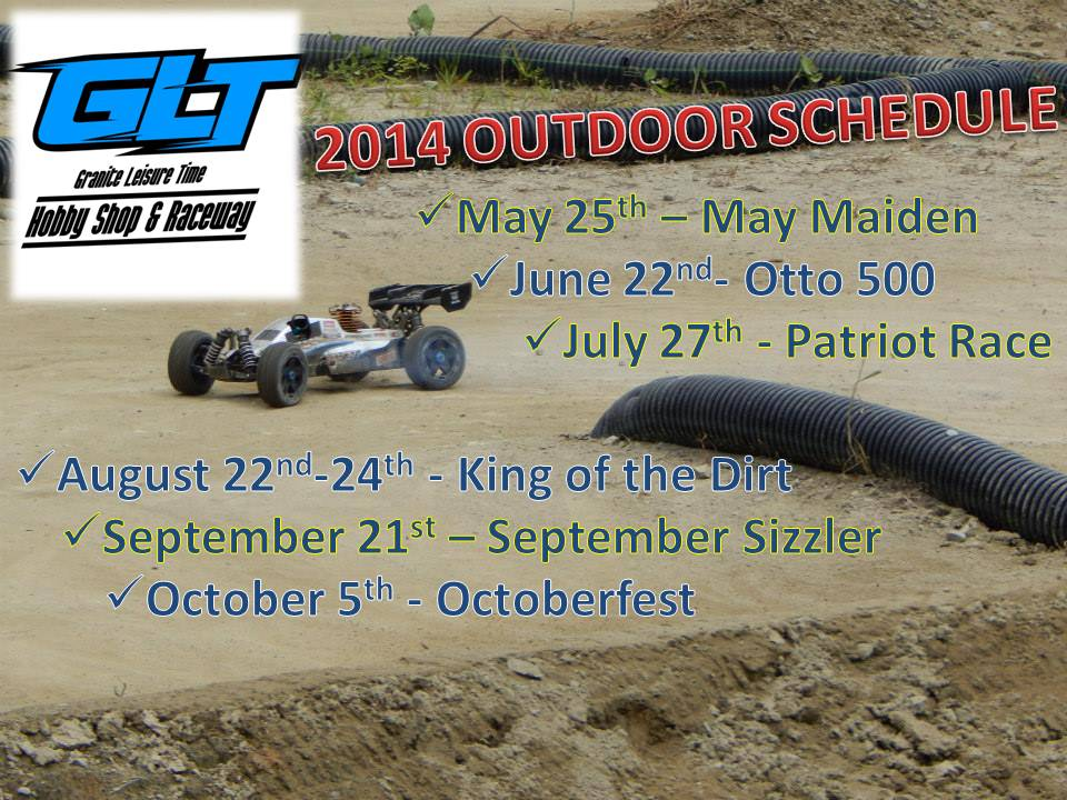 2014 Summer Outdoor Schedule