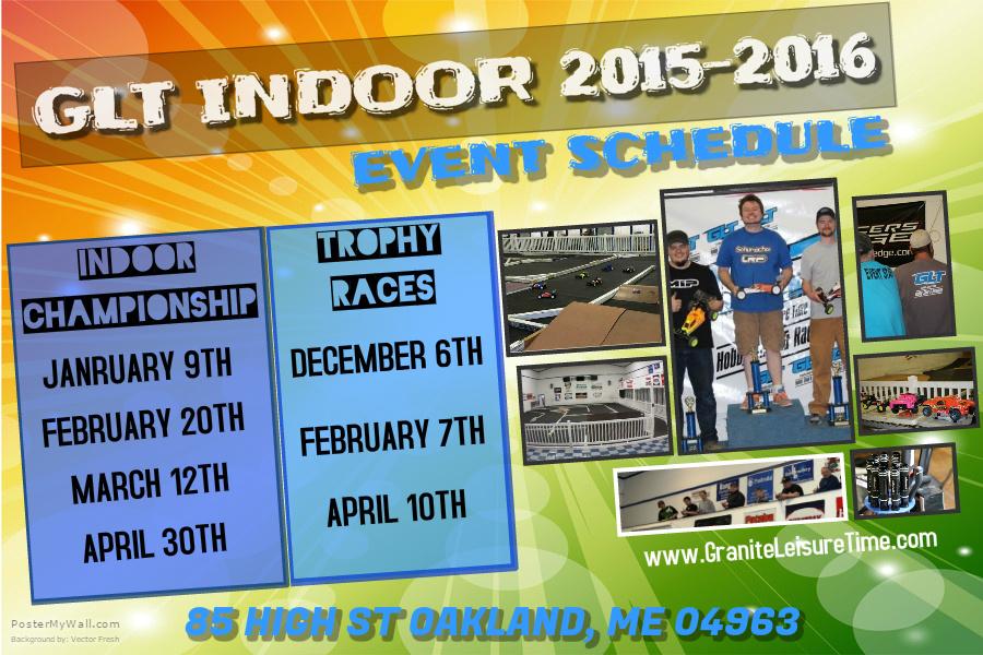 2016 Indoor Schedule Revised