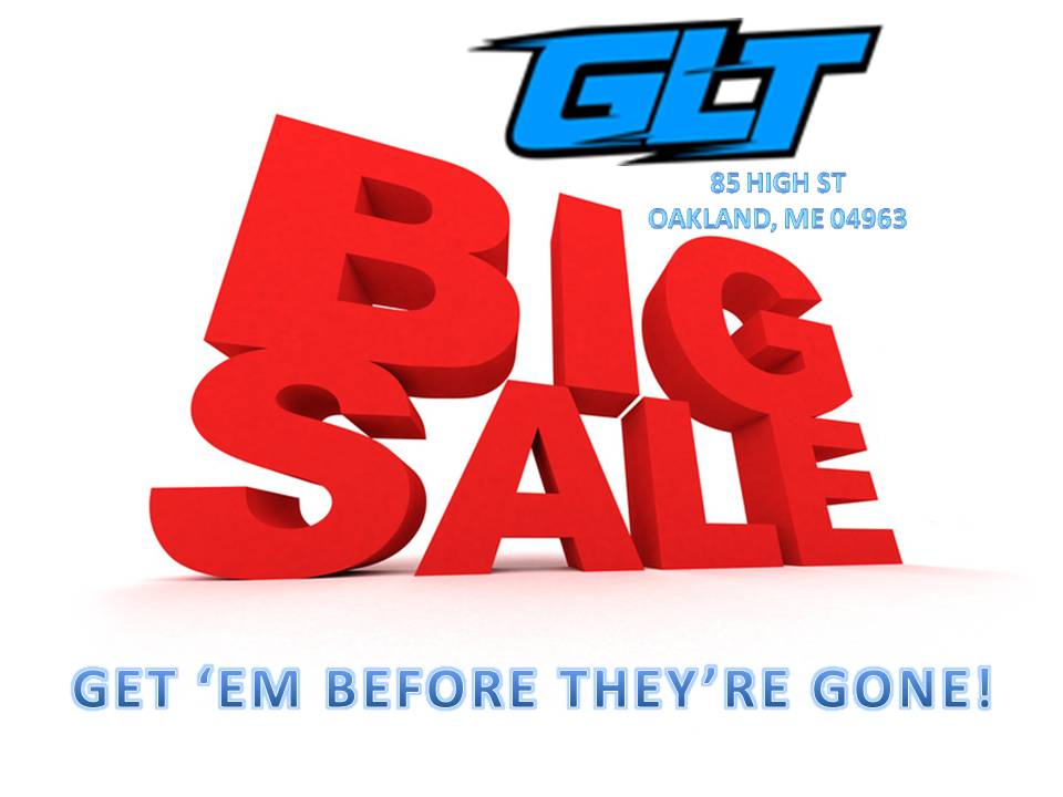 Big sale store site flyer