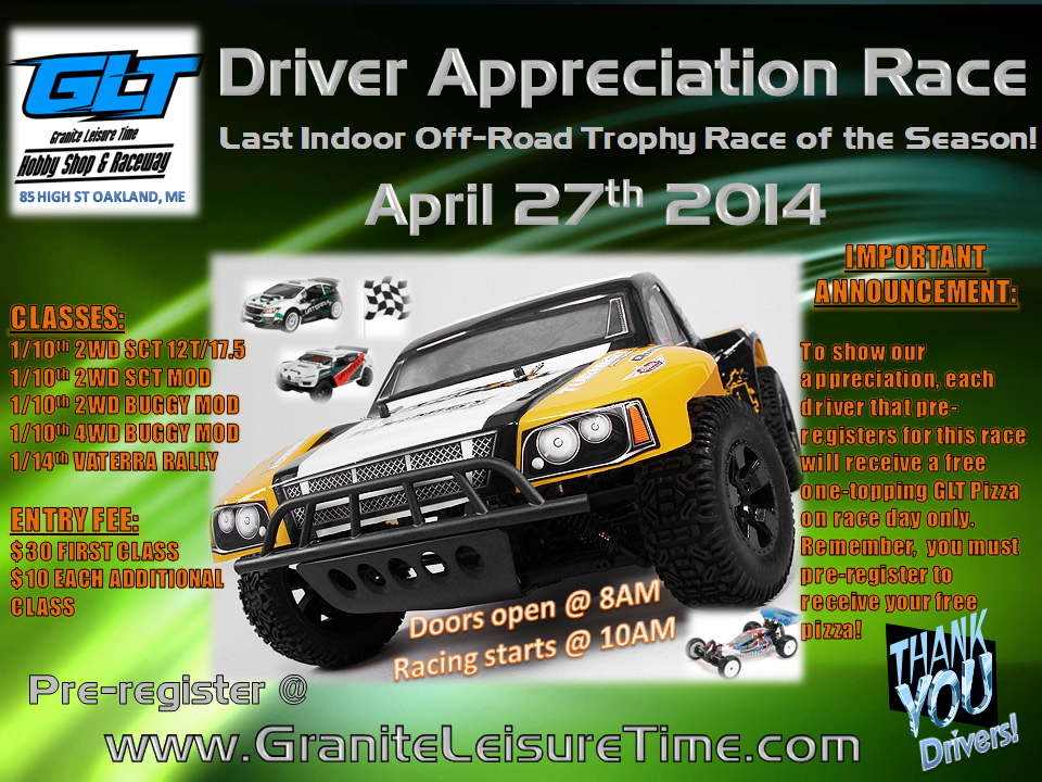 Driver Appreciation Race 2014