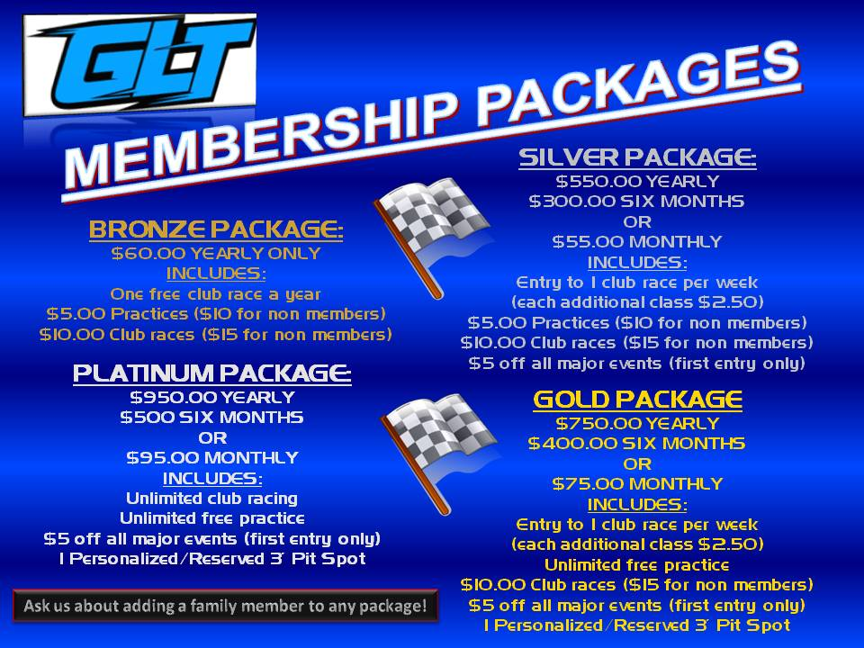 GLT Membership Package Flyer