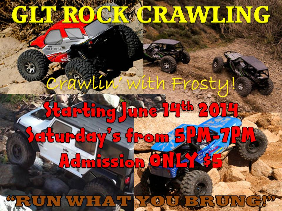 GLT Saturday Rock Crawling 2014
