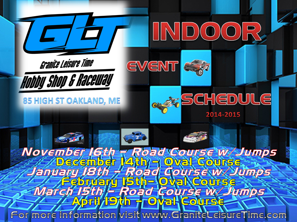 Indoor Winter Schedule 2014-2015