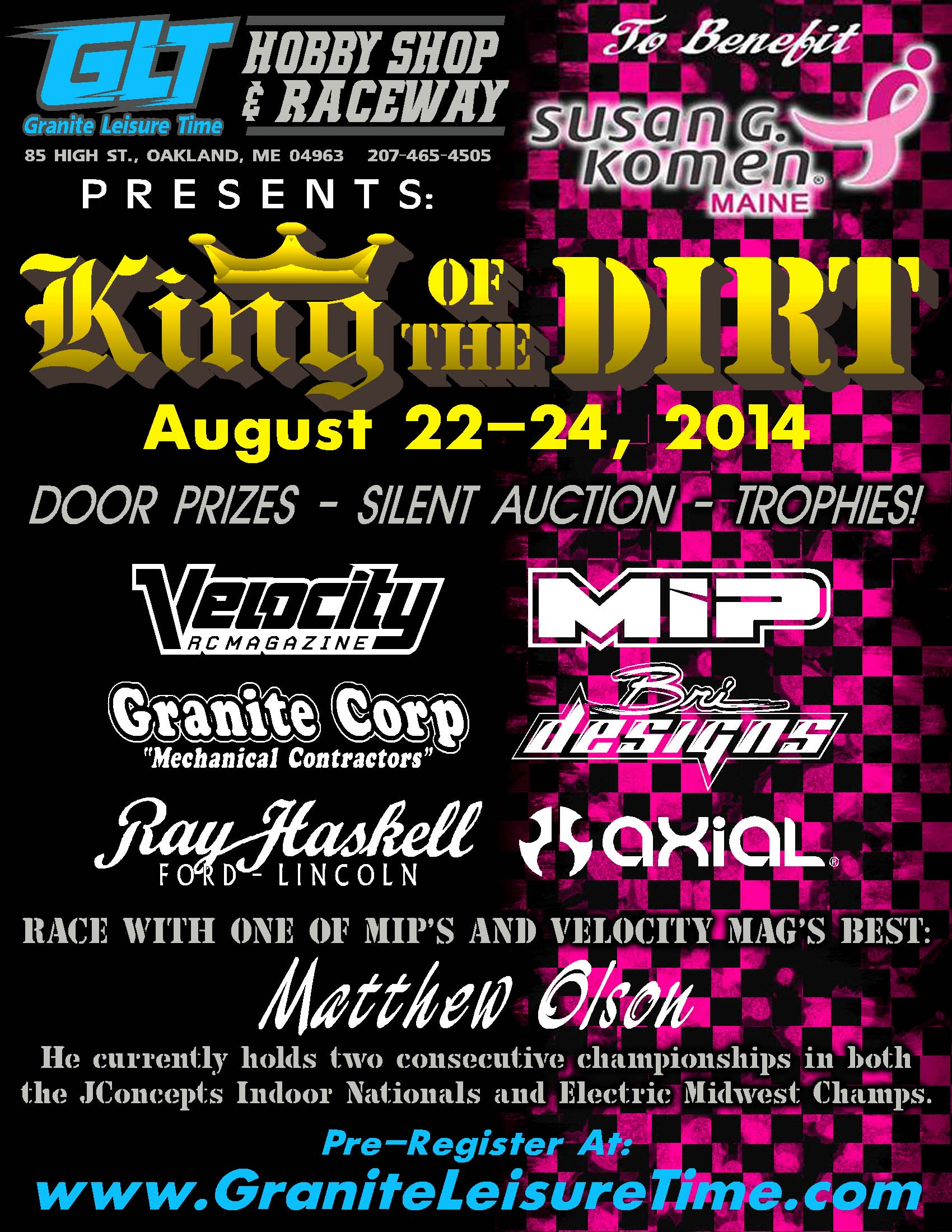 King of the Dirt 2014 revised date