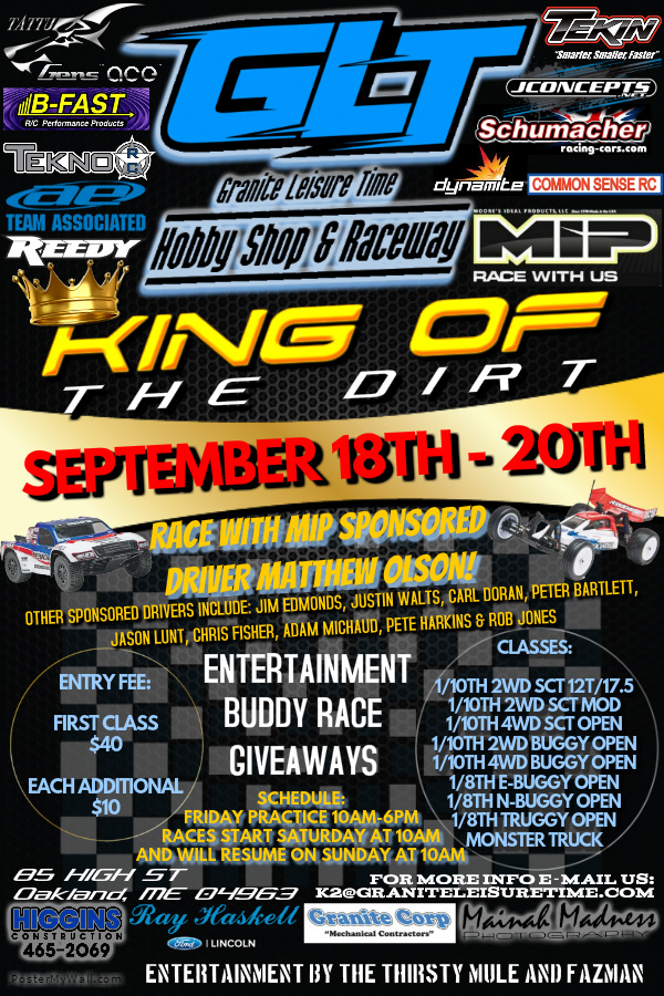 King of the Dirt 2015 Flyer 5