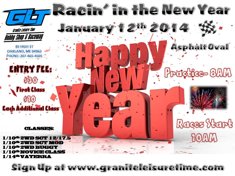 Racin' in the New Year