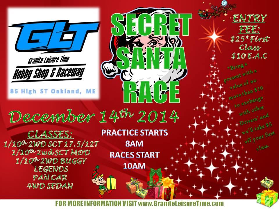 Secret Santa Race 2014