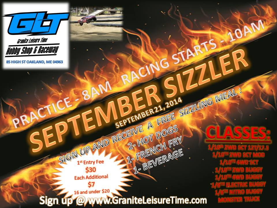 September Sizzler @ Granite Leisure Time | Oakland | Maine | United States