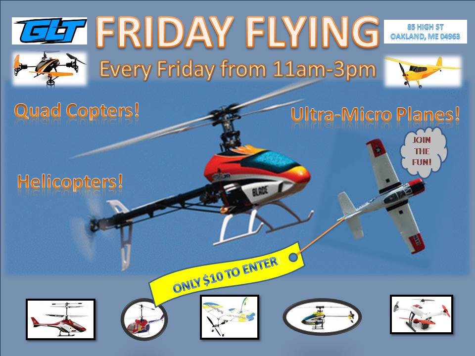 Friday Flying Flyer 2014