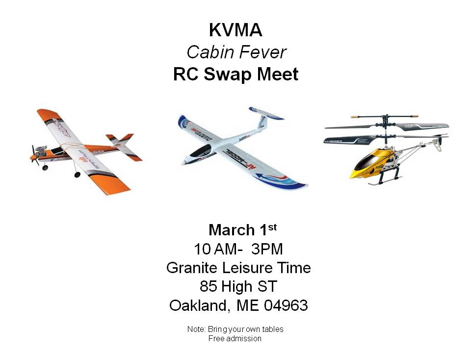 KVMA Swap Meet @ Granite Leisure Time | Oakland | Maine | United States