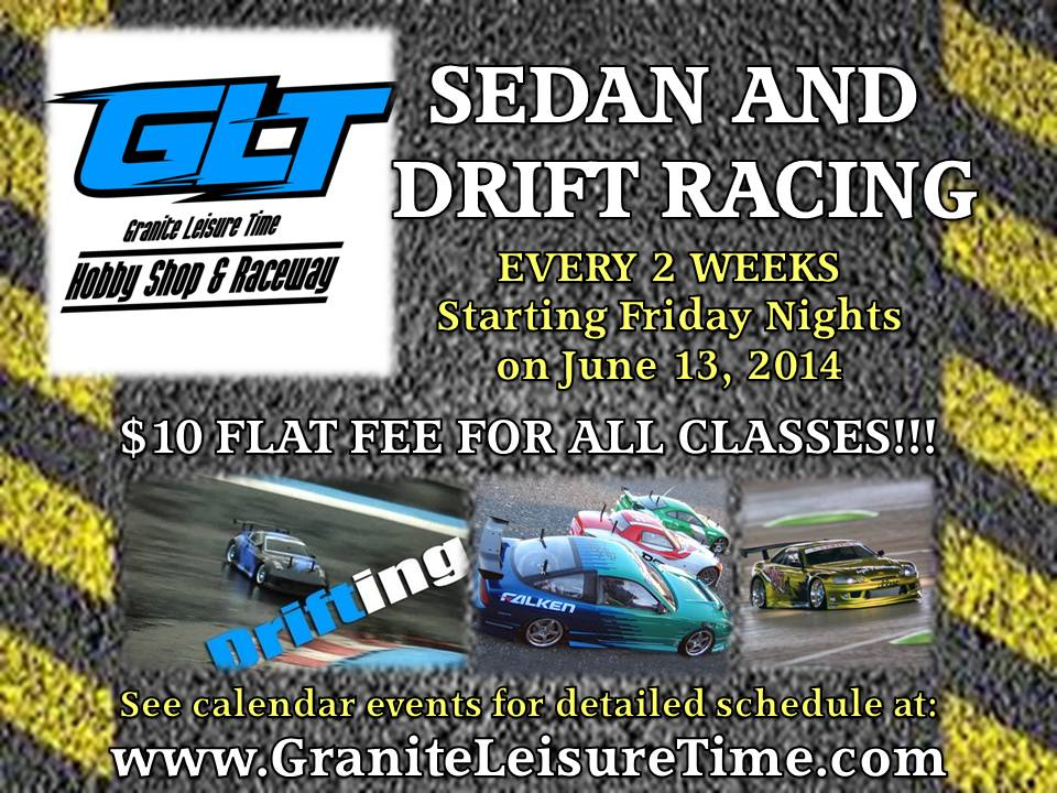 Friday night Sedan and Drift racing