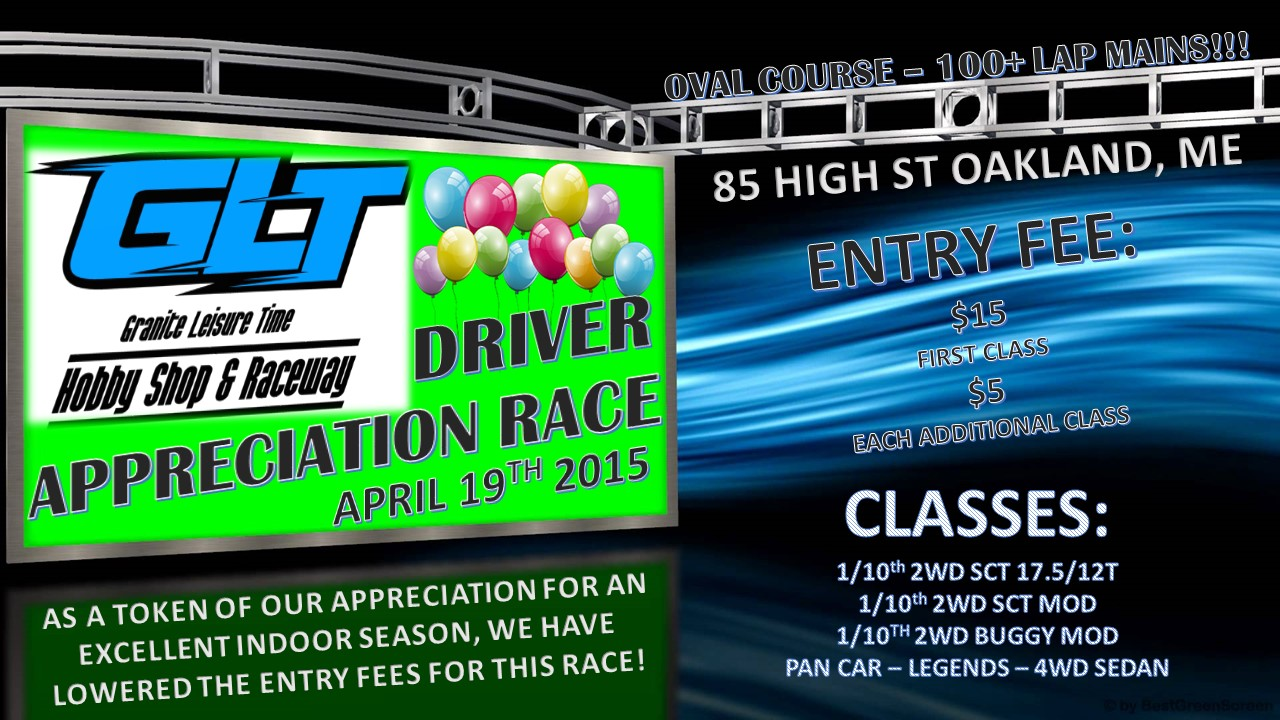 Driver Appreciation Race @ Granite Leisure Time | Oakland | Maine | United States